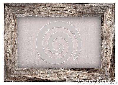vieux cadre en bois avec le fond de toile de jute photo stock image 59201864. Black Bedroom Furniture Sets. Home Design Ideas