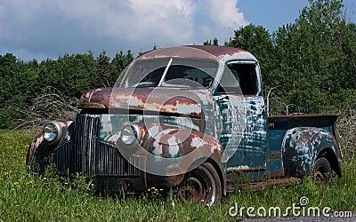vieux camion vendre images stock image 7440854