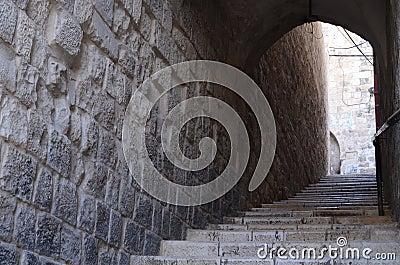 Vieux escaliers