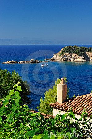 View from an Aegean island