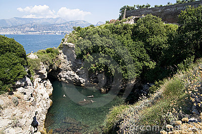 View of Amalfi bay (Salerno, Italy)