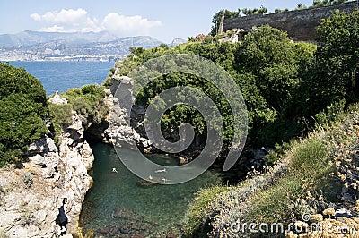 View of Amalfi bay (Salerno, Italy)