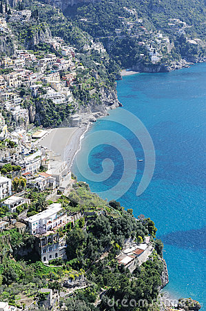 View of Amalfi coast, Italy