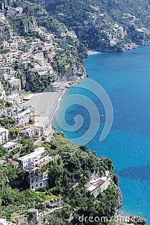 View of Amalfi coast, Italy