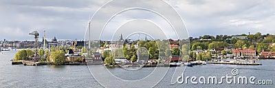 View amusement park Grona Lund, Stockholm