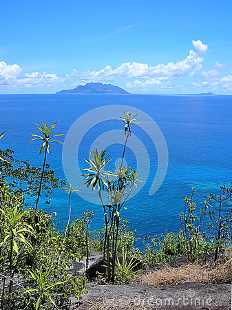 A view from the Anse-Major Pass