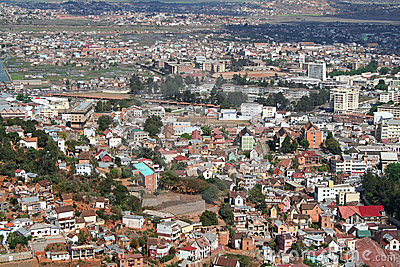 View Of Antananarivo, Capital Of Madagascar Royalty Free Stock Photos ...