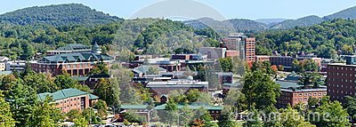 View on Appalachian State University
