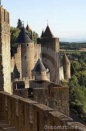Free View At Carcassonne Castle And Surroundings Royalty Free Stock Photography - 273747