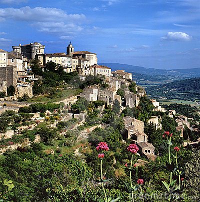 Free View At Gordes Royalty Free Stock Photography - 12703967