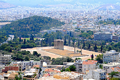 The view of Athens