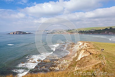 View From Bantham to Bigbury