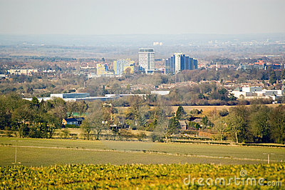 View of Basingstoke, Hampshire
