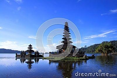 View at Batur Lake Bali