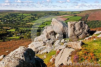 View from Bell Tor Dartmoor