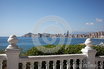 View of Benidorm, Costa Blanca