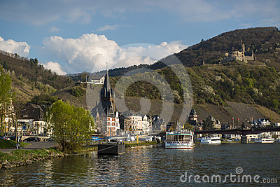 View of bernkastel Editorial Photo
