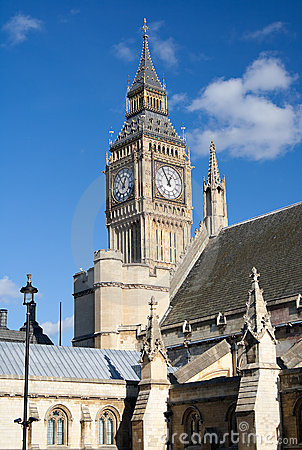 View of the Big Ben Tower