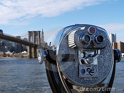 View of Brooklyn Bridge, New York