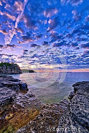 View at Bruce Peninsula