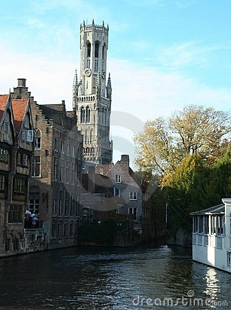 View on Bruges