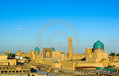 View of Bukhara