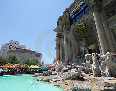 A View of the Caesars Palace Forum Shops Editorial Photography
