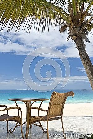 View of the Caribbean Ocean