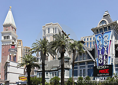 A View of Casino Royale, Las Vegas, Nevada Editorial Stock Photo