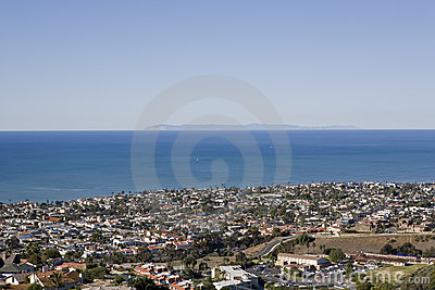 View of Catalina taken from San Clemente