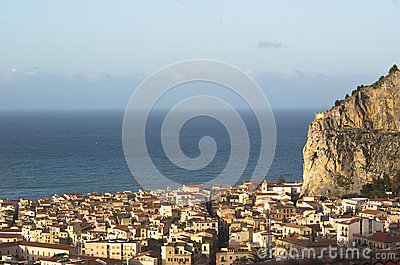View of the Cefalu