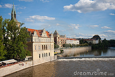 View from the Charles Bridge, Praha