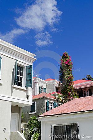 View of Charlotte Amalie, St. Thomas USVI