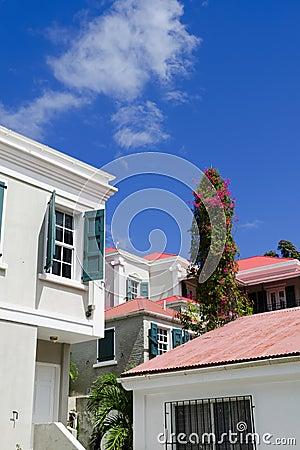View of Charlotte Amalie, St. Thomas USVI