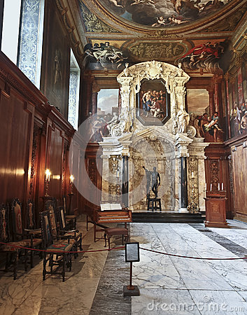 A View of Chatsworth Chapel, Great Britain Editorial Image