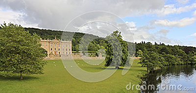 A View Of Chatsworth House, Great Britain Stock Photo - Image: 26089330