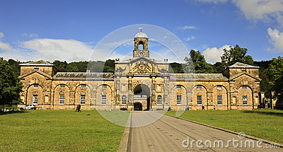 A View of Chatsworth House, Great Britain Editorial Stock Image