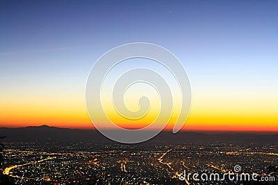 View of Chiangmai city