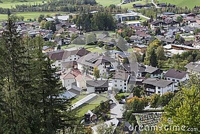 View of the city Matrei