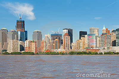 View of the city of New York