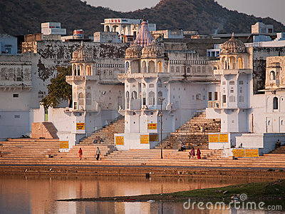 View of the City of Pushkar