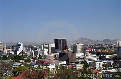 View of the city, Windhoek, Namibia