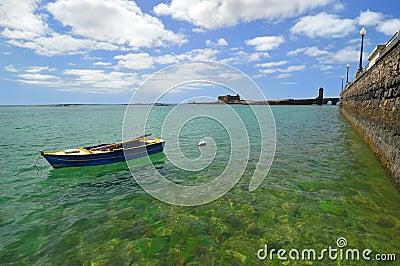 View of coast - Arrecife. Lanzarote.