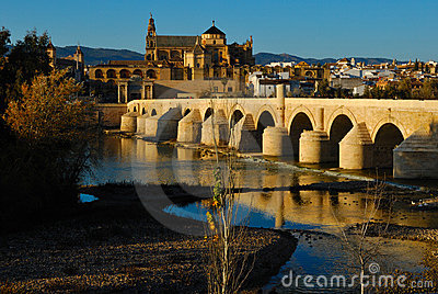 View of Cordoba mosque