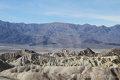 USA, California: View into Death Valley