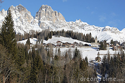View of  Dolomiti