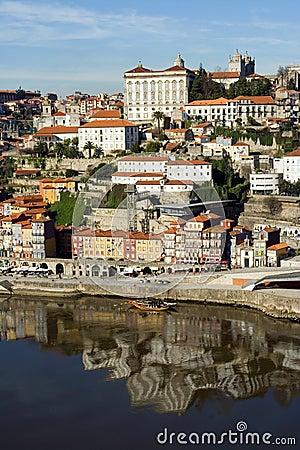 View of Douro river - Porto