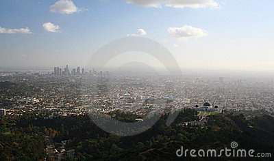 View of Downtown Los Angeles