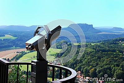 View elbsandsteingebirge