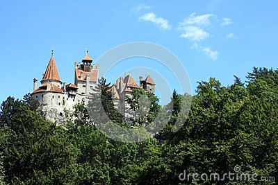 View of the famous Bran Castle